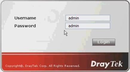 Hướng dẫn mở NAT Port Đầu HIKVISION trên Modem Draytek