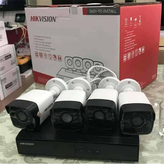Bộ camera Hikvision 5mp chống ngược sáng